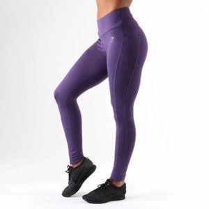 Gymshark Dry Sculpture Leggings Rich Purple Size L